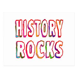 History Rocks Postcard