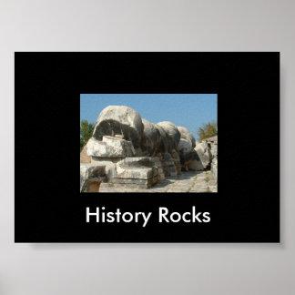 History rocks poster