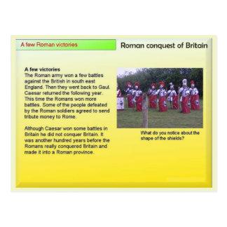 History, Romans; Conquest of Britain, Victories Postcard