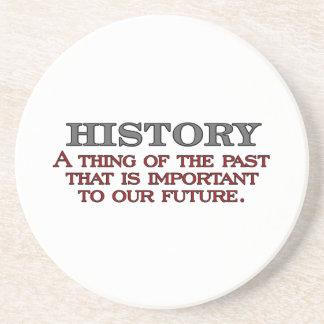 History Sandstone Coaster