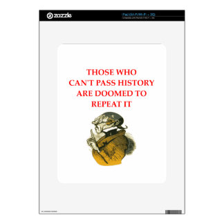 HISTORY SKINS FOR THE iPad