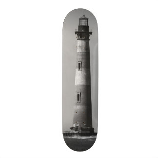History Stands Tall Grayscale Skateboard Deck