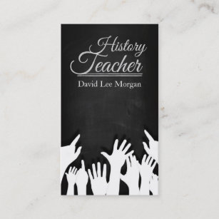 History teacher business card history teacher business card reheart Image collections