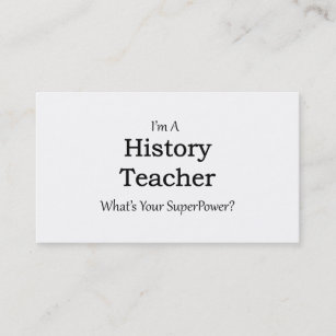 For history teacher business cards zazzle history teacher business card reheart Image collections