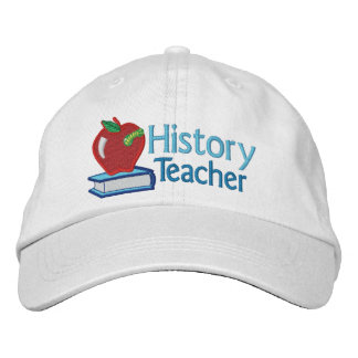 History Teacher embroidered Embroidered Baseball Hat