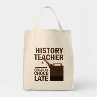 History Teacher (Funny) Gift Canvas Bags