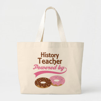 History Teacher Funny Gift Canvas Bags