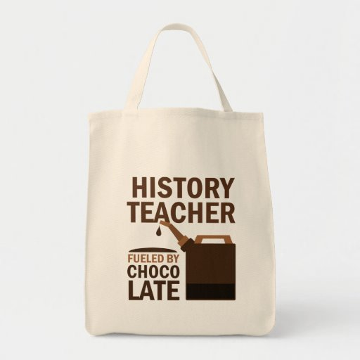 History Teacher (Funny) Gift Grocery Tote Bag