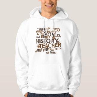 History Teacher Gift Hooded Pullover