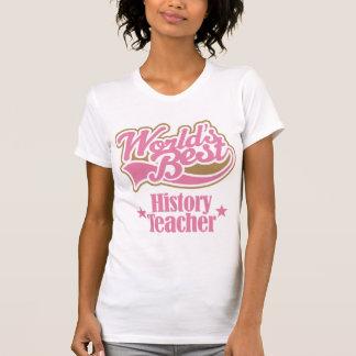History Teacher Gift (Worlds Best) T-shirt