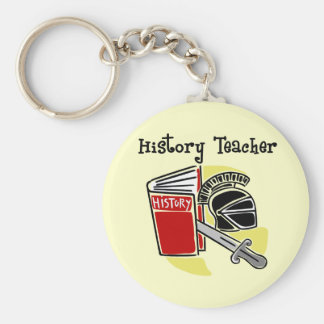 History Teacher Gifts Keychain