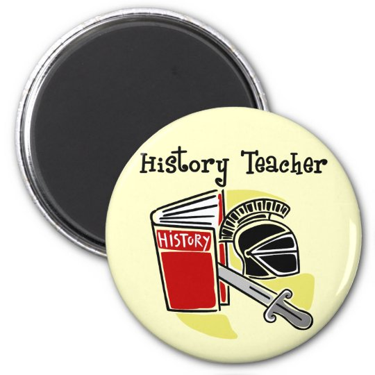 History Teacher Gifts Magnet