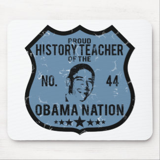 History Teacher Obama Nation Mouse Pad