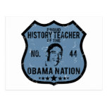 History Teacher Obama Nation Postcard