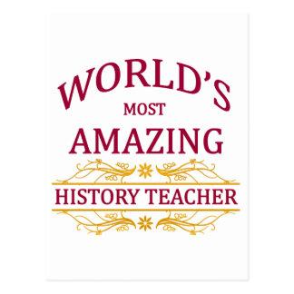 History Teacher Postcard