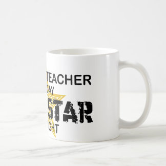 History Teacher Rock Star Coffee Mug