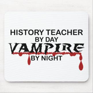 History Teacher Vampire by Night Mouse Mats