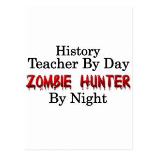 History Teacher/Zombie Hunter Postcard