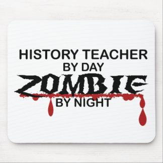 History Teacher Zombie Mouse Pads