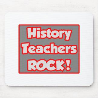 History Teachers Rock! Mouse Pad