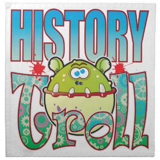 History Troll Printed Napkin