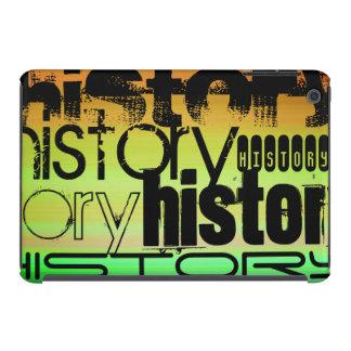 History; Vibrant Green, Orange, & Yellow iPad Mini Retina Case
