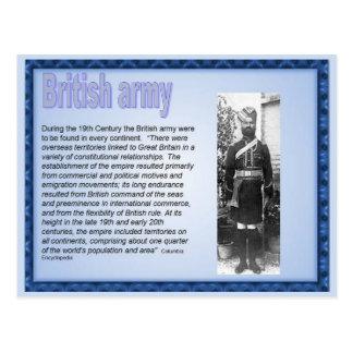 History Victorians British Army Postcard