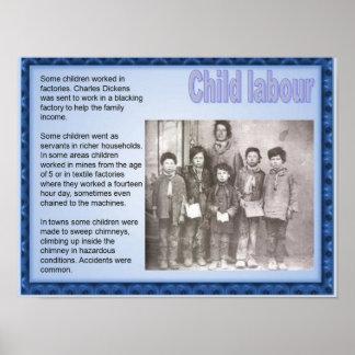 History, Victorians  Child labour Poster
