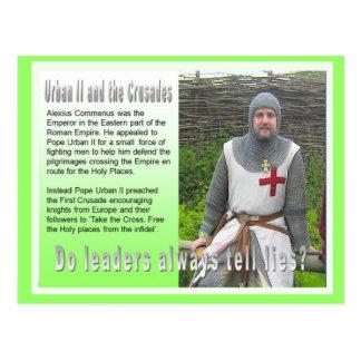 History, War and Peace, Crusades Postcard