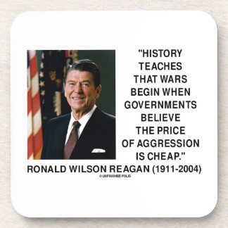 History Wars Begin Price Of Aggression Is Cheap Beverage Coasters