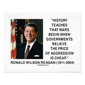 History Wars Begin Price Of Aggression Is Cheap Custom Invites