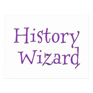 History Wizard Postcard
