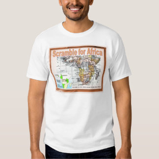 History, World War I, Scramble for AFrca T-Shirt