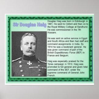History, World War I, Sir Douglas Haig Poster