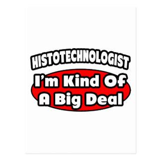 Histotechnologist .. Big Deal Postcards