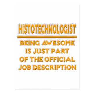 Histotechnologist .. Job Description Postcards