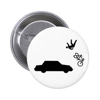 Hit and Run 2 Inch Round Button
