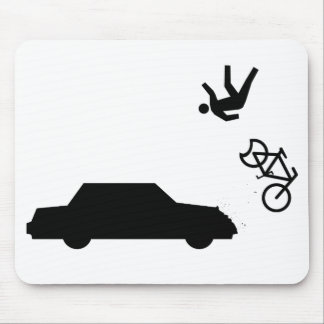 Hit and Run Mouse Pad