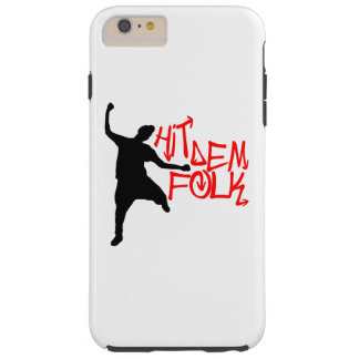 Hit Dem Folk iPhone Case