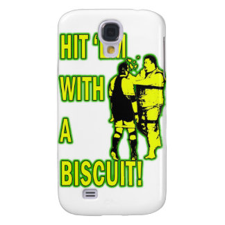 Hit 'Em With A Biscuit Case Galaxy S4 Case
