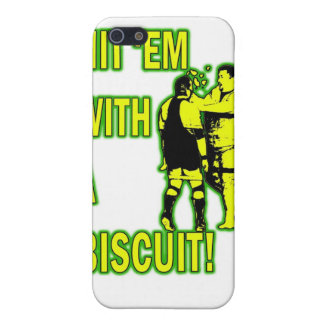 Hit 'Em With A Biscuit Case iPhone 4 iPhone 5 Case