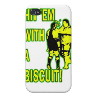 Hit 'Em With A Biscuit Case iPhone 4 iPhone 4/4S Cases