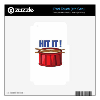 Hit It iPod Touch 4G Decal