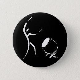 Hit It (Taiko Button) Pinback Button