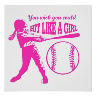Hit Like A Girl Poster