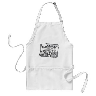 Hit Me Again Adult Apron