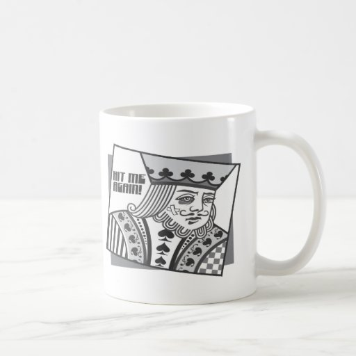 Hit Me Again Coffee Mug
