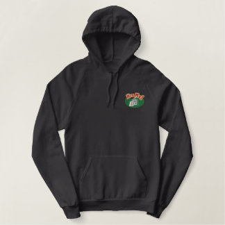 Hit Me Cards Embroidered Hoodie