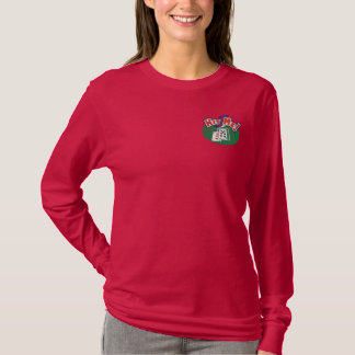 Hit Me Cards Embroidered Long Sleeve T-Shirt