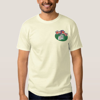 Hit Me Cards Embroidered T-Shirt